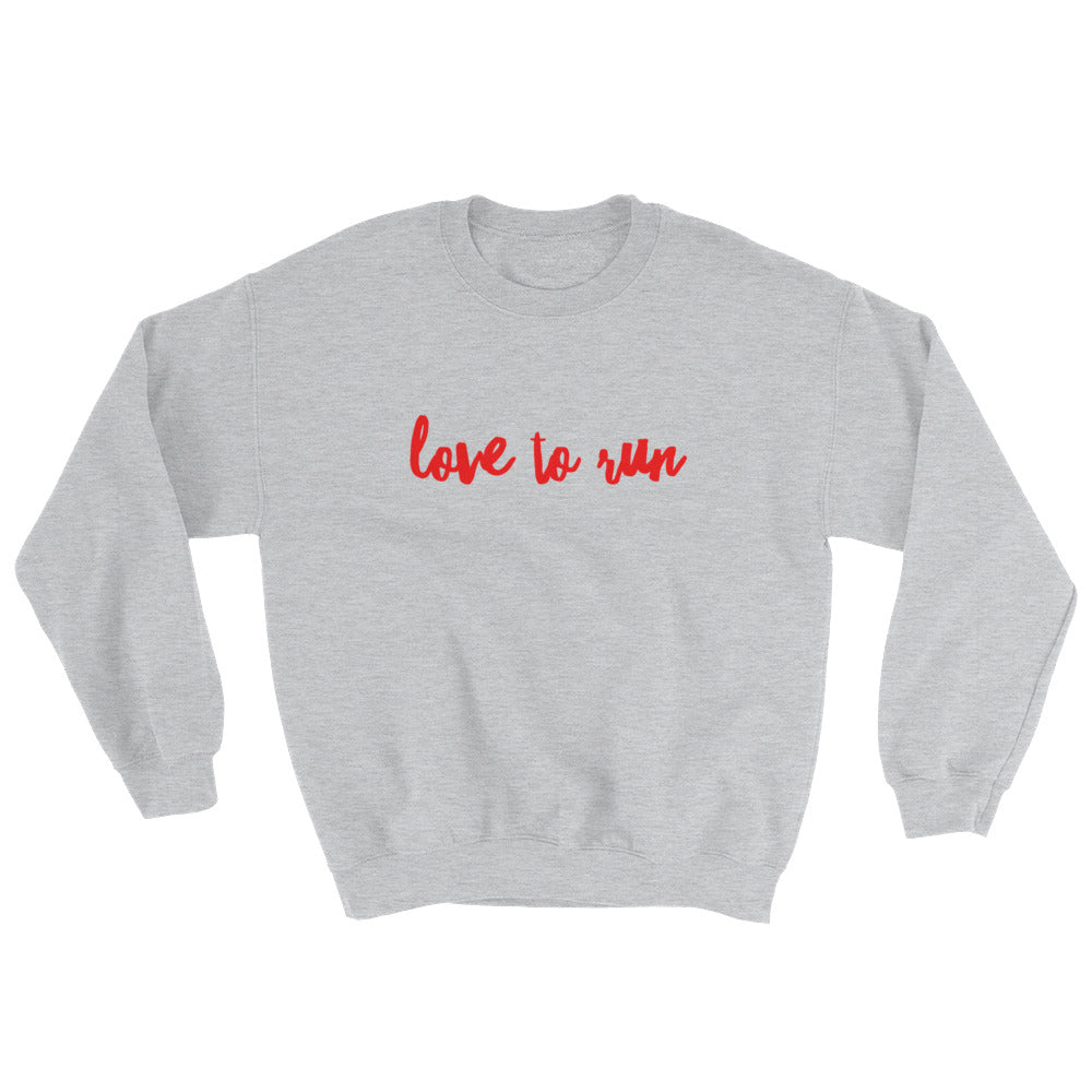 Love to Run - Sweatshirt