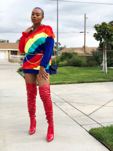 Rare Vibes Oversized Sweater Dress, , Exquisite Woman, Exquisite Woman
