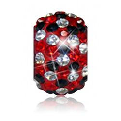 1806 | Sparklies® - Bright Red & Black Speckled