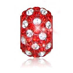1828 | Sparklies® - Bright Red & White Polka Dot