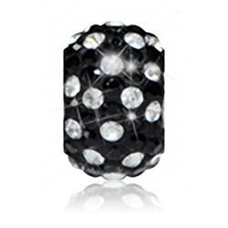 1829 | Sparklies® - Black & Clear Polka Dot