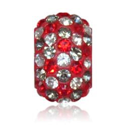 1838 | Sparklies® - Bright Red & Silver Speckled