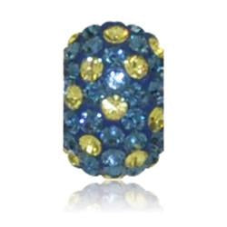 1847 | Sparklies® - Navy & Yellow Polka Dot
