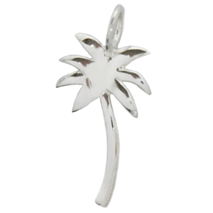 8008 | Sterling Silver Pendant - Palm Tree