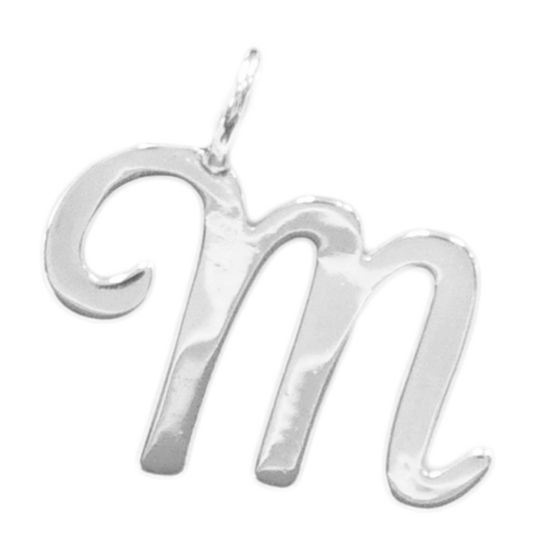 800M | Sterling Silver Pendant - M