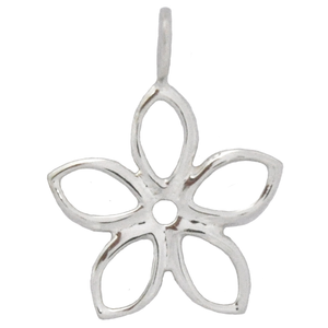 8011 | Sterling Silver Pendant - Flower