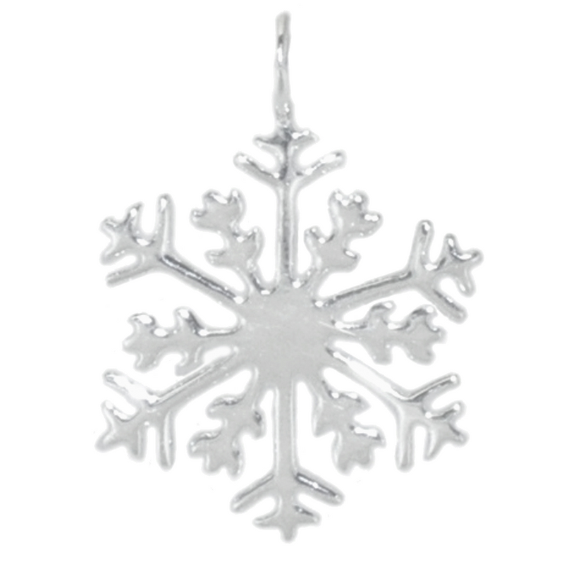8018 | Sterling Silver Pendant - Snowflake