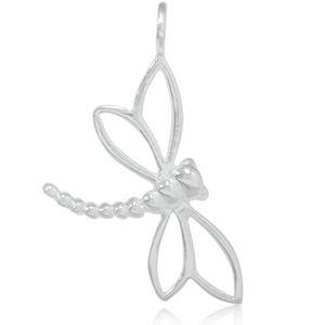 8030 | Sterling Silver Pendant - Dragonfly