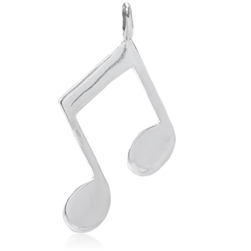 8045 | Sterling Silver Pendant - Music Note