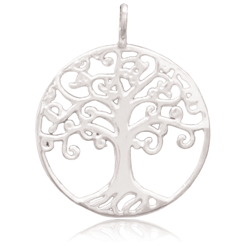 8050 | Sterling Silver Pendant - Tree of Life