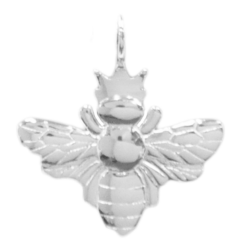 8055 | Sterling Silver Pendant - Queen Bee
