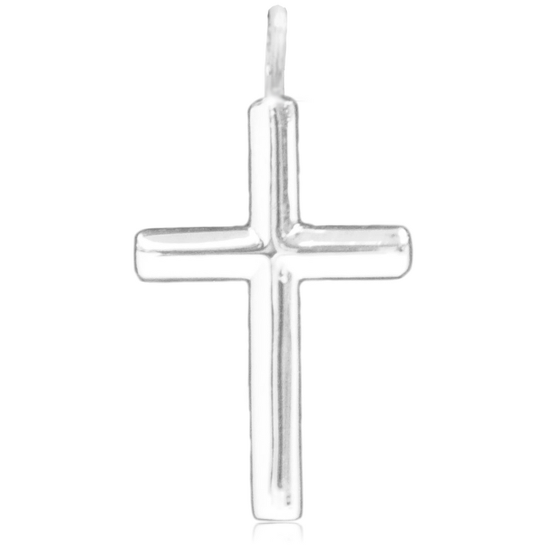 8067 | Sterling Silver Pendant – Traditional Cross