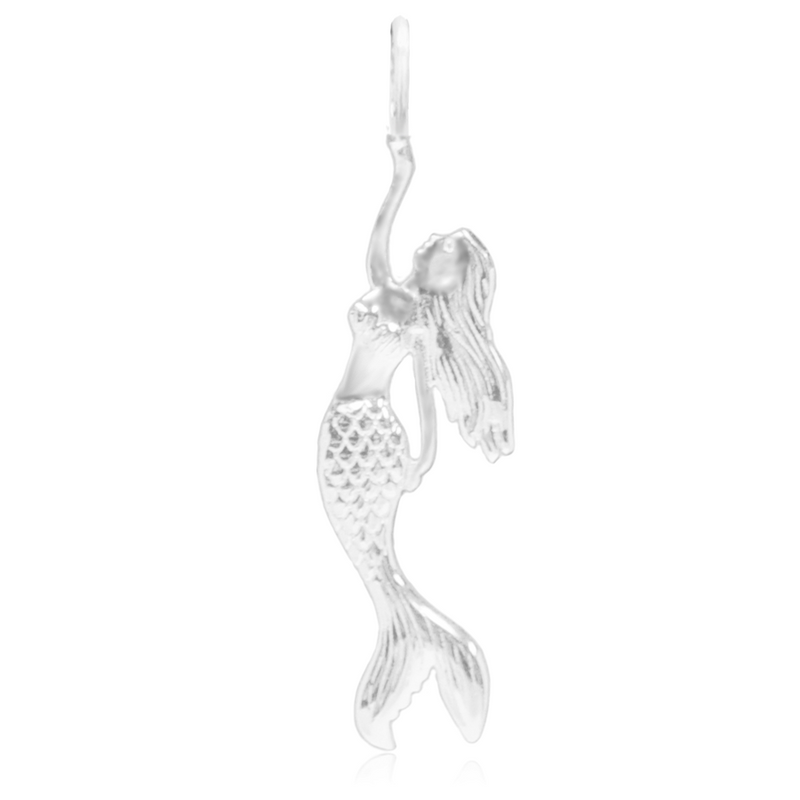 8074 | Sterling Silver Pendant – Mermaid