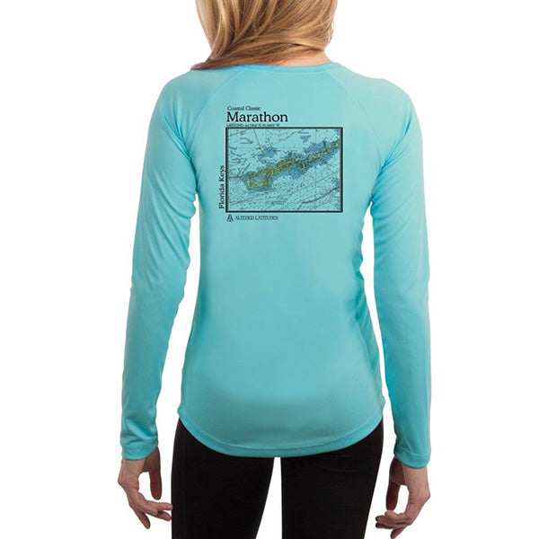 Marathon Chart Long Sleeve SPF Shirt