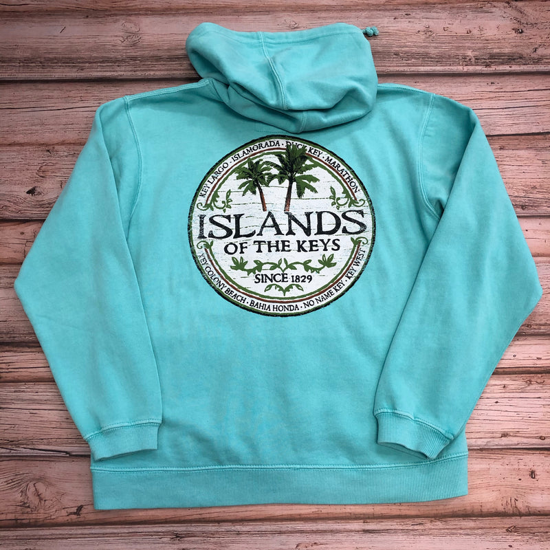 Women's Islands of the Keys Sweat Shirt, CM Blue