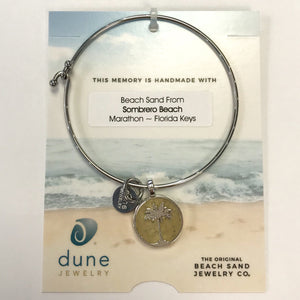Dune Circle Palm Bangle, Sombrero Sand