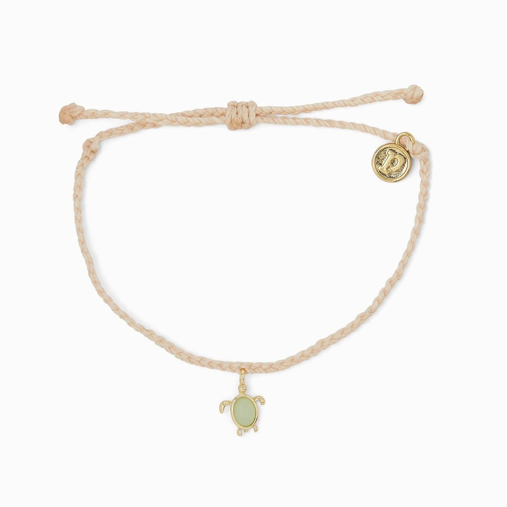 PURA VIDA SAVE THE TURTLES CHARM BRACELET