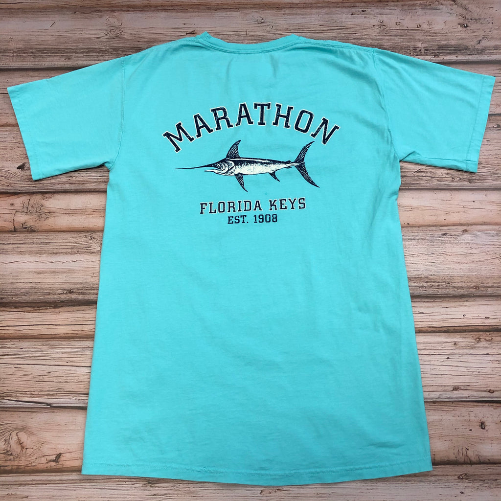 Austin's 2x2 Fish Short Sleeve T-Shirt, CM Blue