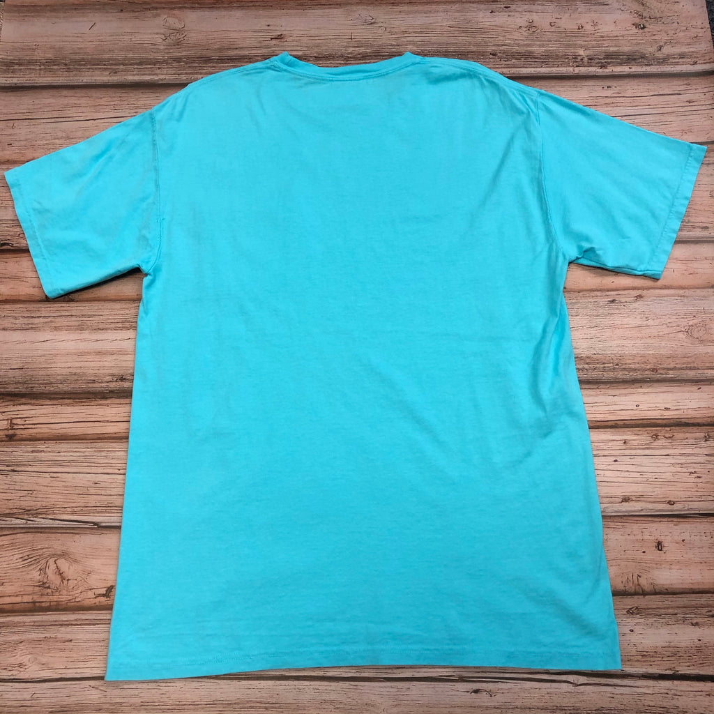 Austin's Short Sleeve Pocket T-Shirt, Lagoon Blue