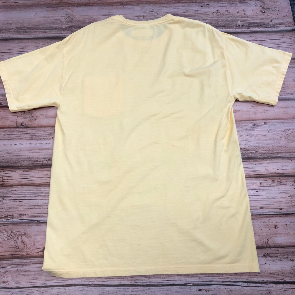 Austin's Short Sleeve Pocket T-Shirt, Yellow