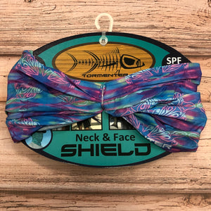 Tormenter Face Shield Buff, Tie Dye Turtle