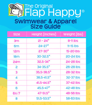 Flap Happy Dahlia UPF 50+ Girl's Mermaid Dress