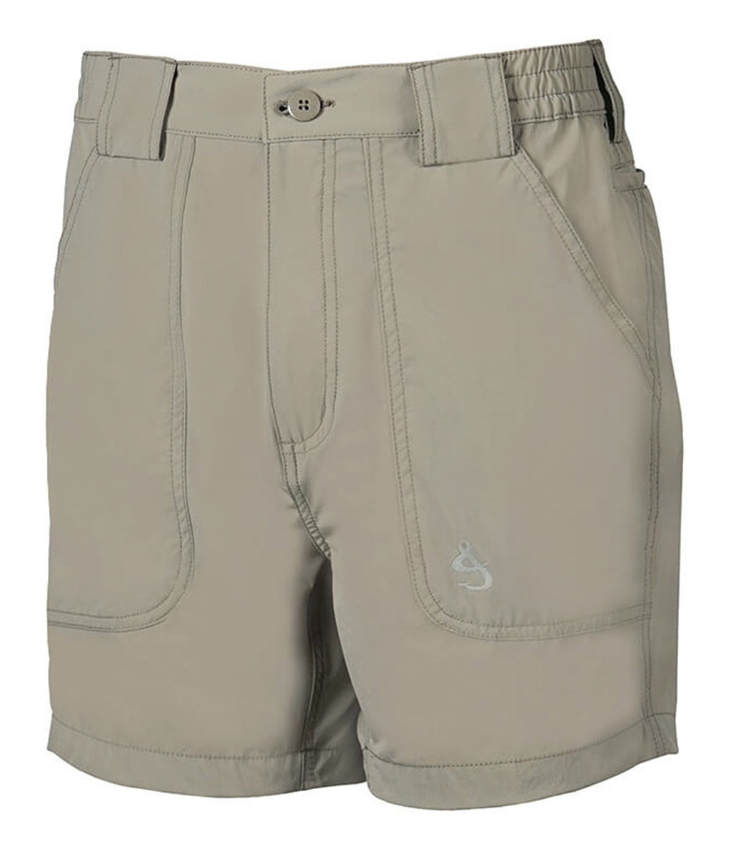 Beer Can Island Stretch Hybrid Fishing Short, Sand