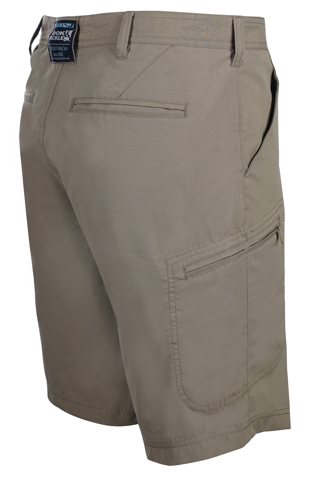 Driftwood Hybrid Fishing Short, Khaki