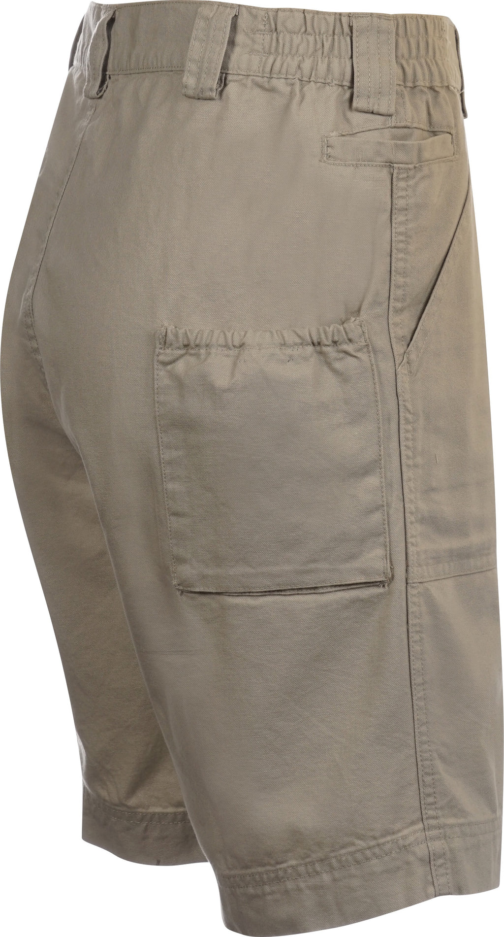 Hook & Tackle Beer Can Island Fishing Short Long Neck, Khaki