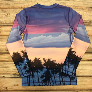 Salt Life Pink Dreams Performance Long Sleeve Youth Tee