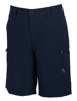 Driftwood Hybrid Fishing Short, Navy
