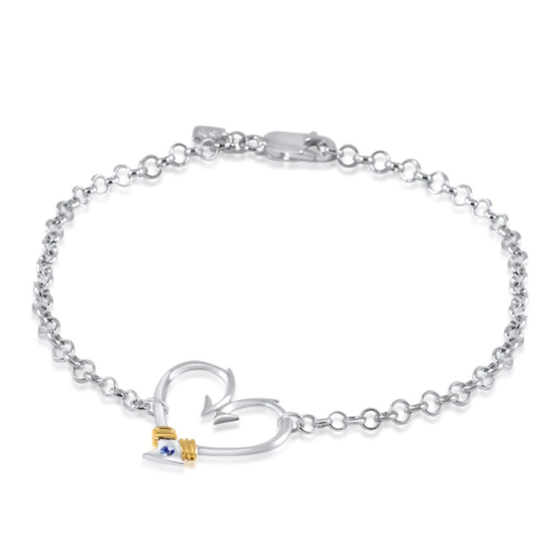 Nauti Girl Heart Hook Anklet