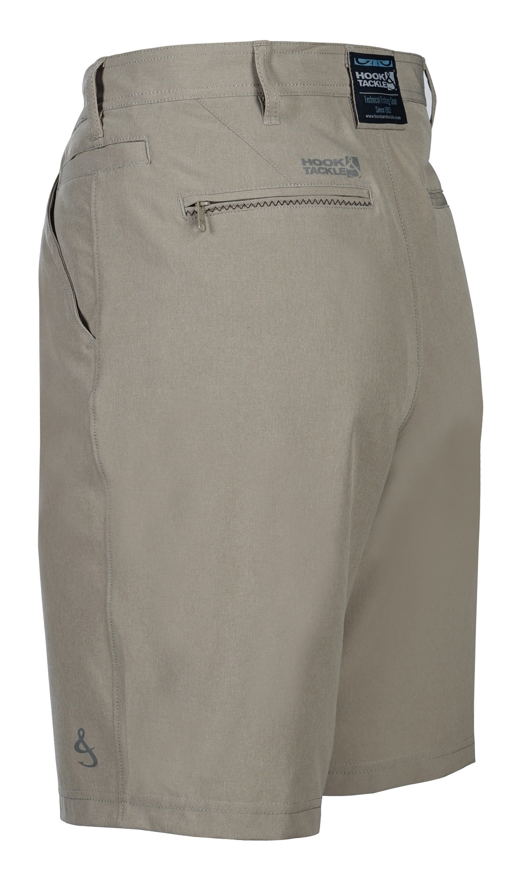 Hi-Tide Hybrid 4-Way Stretch Short, Khaki