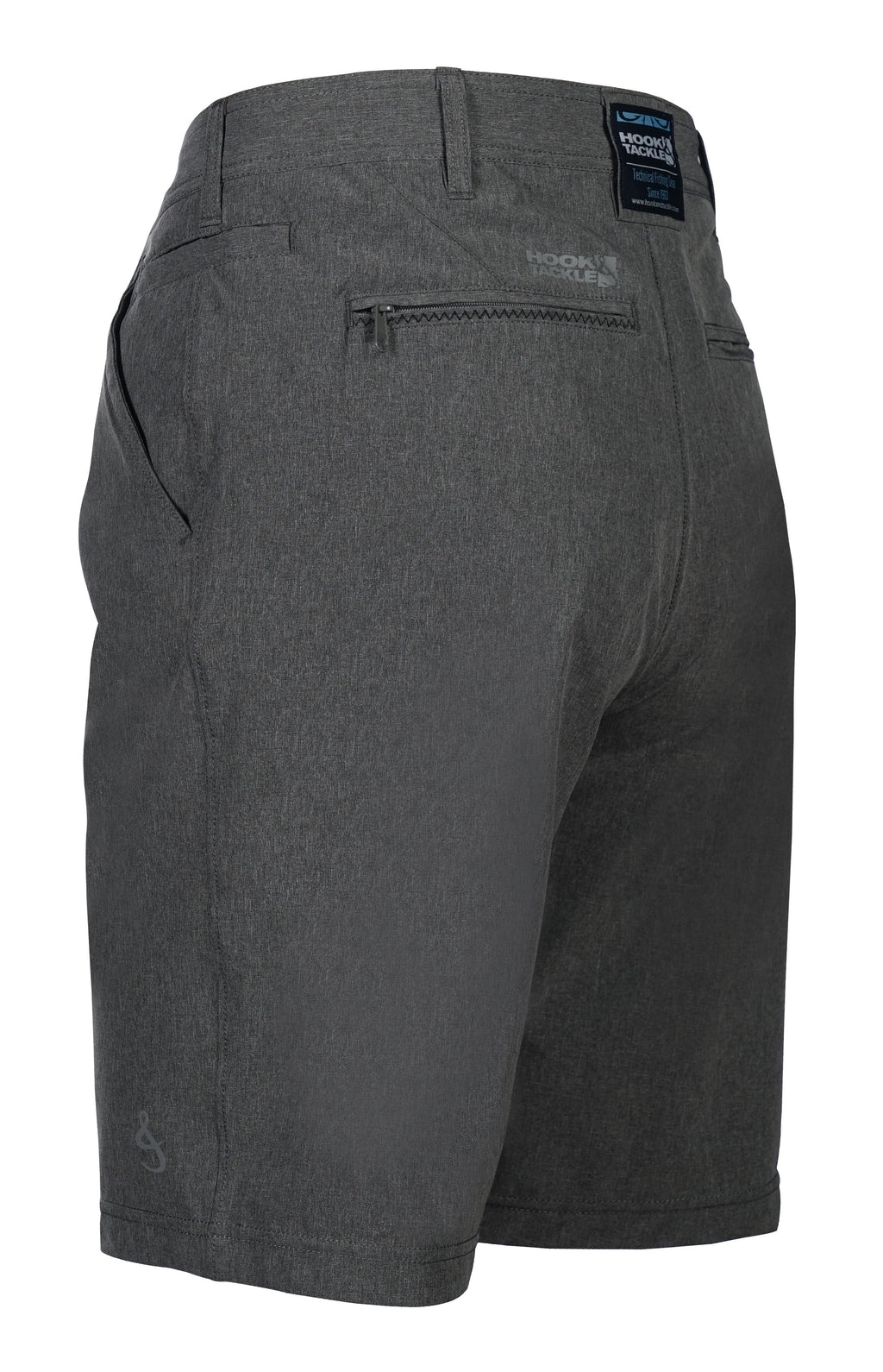 Hi-Tide Hybrid 4-Way Stretch Short, Porpoise Grey