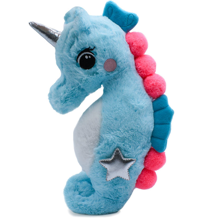 Earth Nymph Plush Unicorn Seahorse