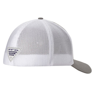 Columbia PFG Fish Flag Mesh Ball Cap, Grey