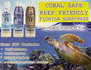 "REEF SAFE Sunscreen SPF 30 ""Florida Snowbird"""
