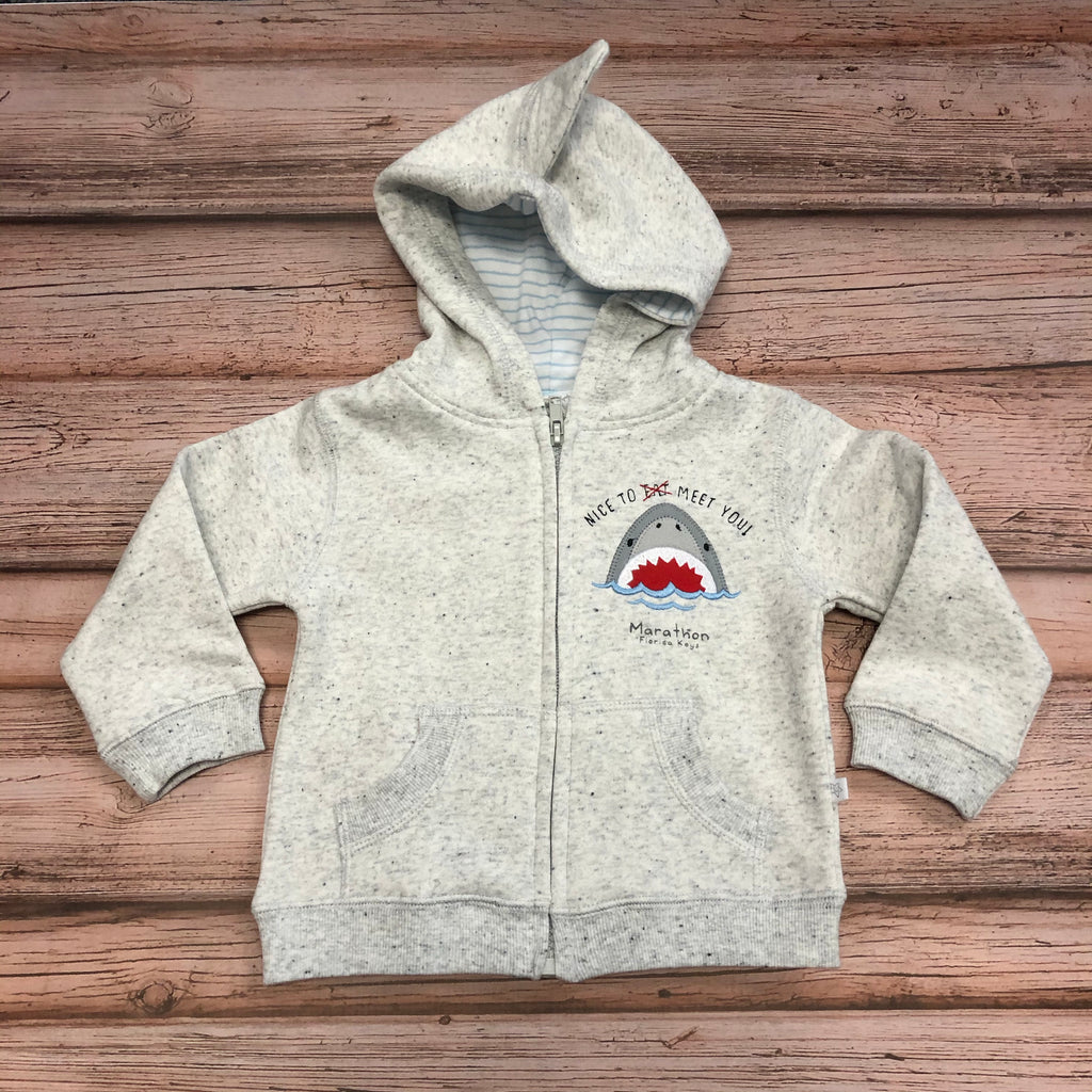 Earth Nymph Shark Baby Boy Hoodie