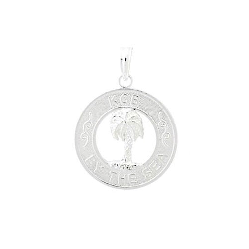 KCB By the Sea Pendant, Sterling Silver