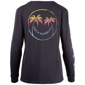 Salt Life Smile Sunshine Long Sleeve, Ebony