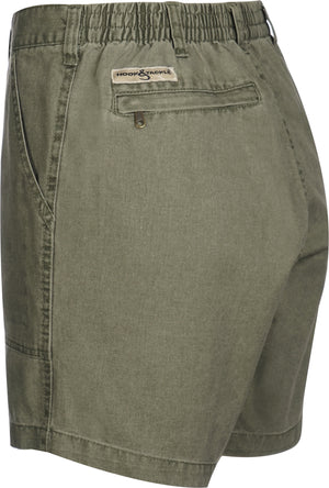 Hook & Tackle Original Beer Can Island Fishing Short, Olive