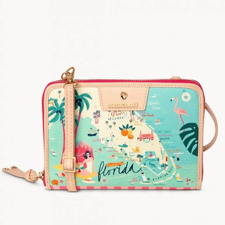 Spartina Florida All in One Phone Crossbody