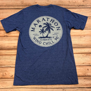 Wind Chill Short Sleeve T-Shirt, Heathered Blue
