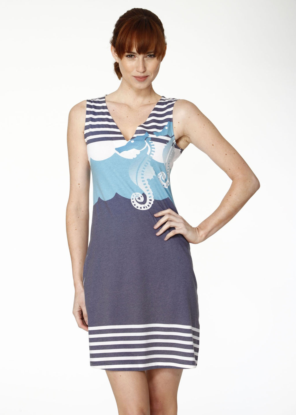 Whimsy Rose Twin Seahorse Dress