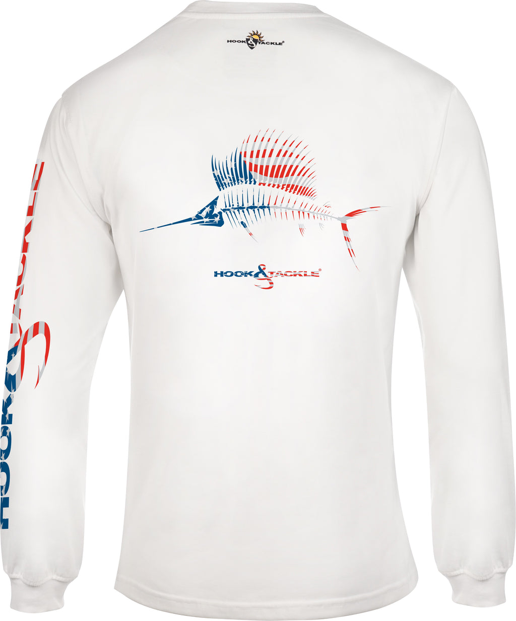 American Sailfish Long Sleeve, White