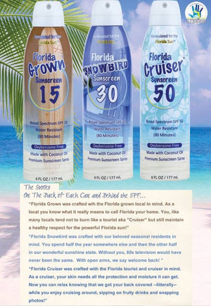 "REEF SAFE Sunscreen SPF 50 ""Florida Cruiser"""