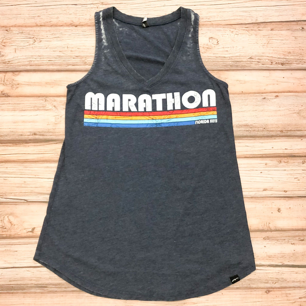 Ladies Marathon Stripes Tank