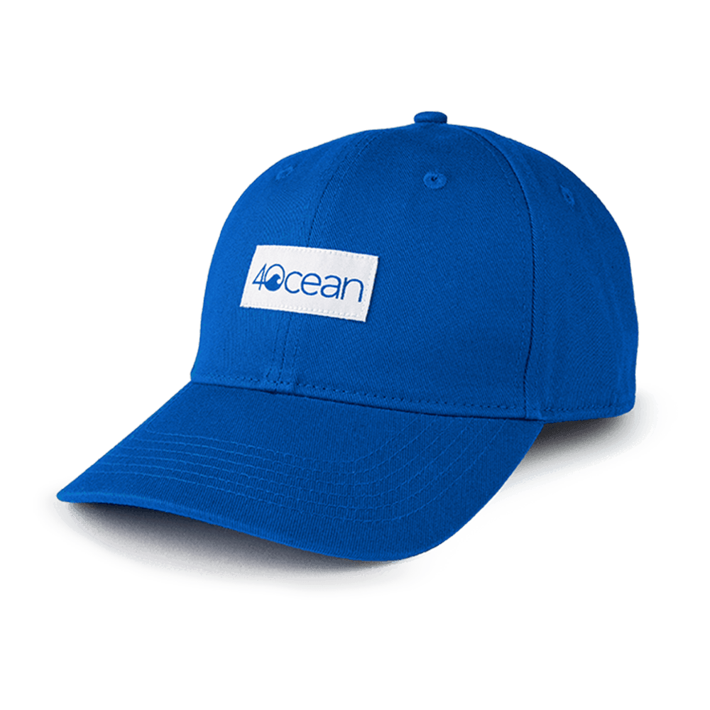 4ocean Low Profile Hat - Ball Cap Style Logo Patch