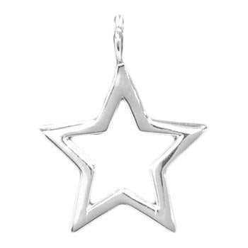8056 | Sterling Silver Pendant - Star