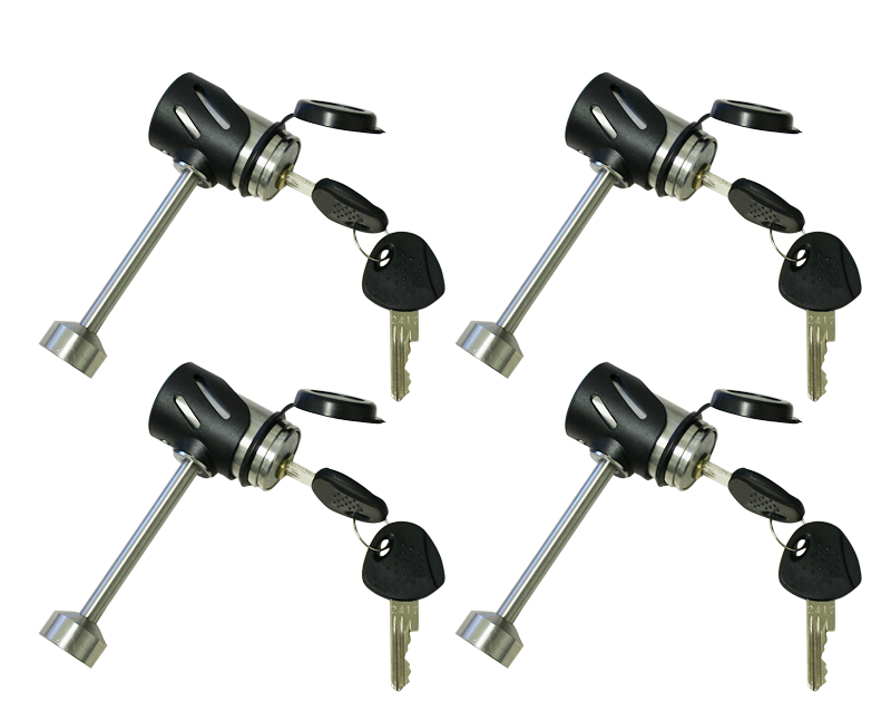 Torklift S9700 Tie Down Locks For Frame Mount Tie Downs (4 Locks)